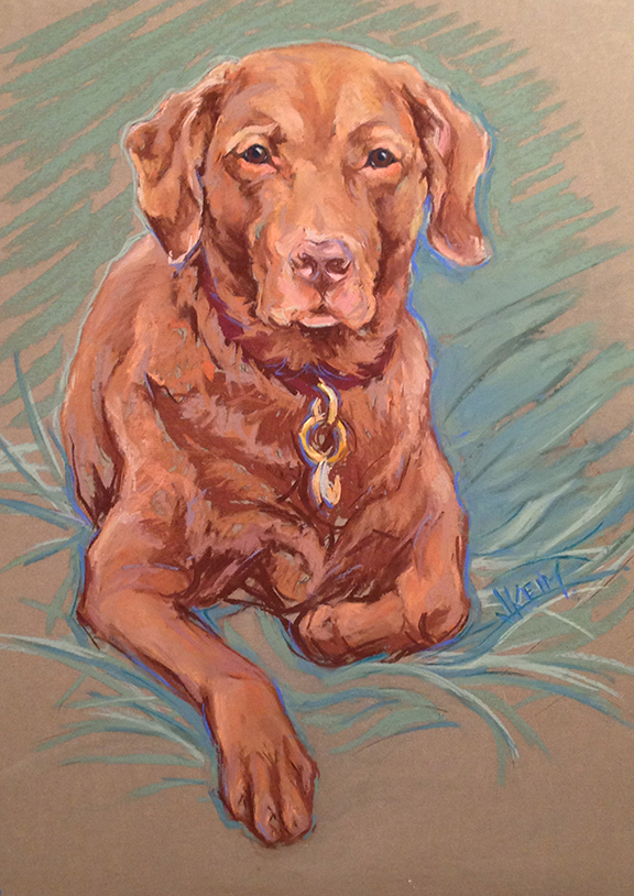 Cajun - Pastel on Wallis Paper 18x24