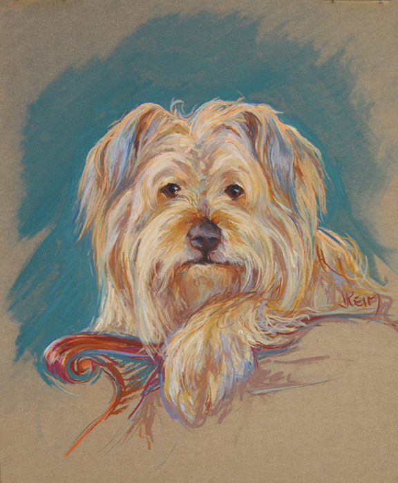 George - Pastel on Wallis Paper 16x20