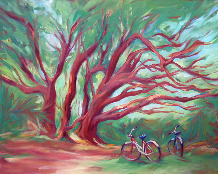 Just The Two of Us - Oil 60x48