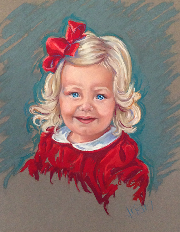 Margaret - Pastel on Wallis Paper 16x20