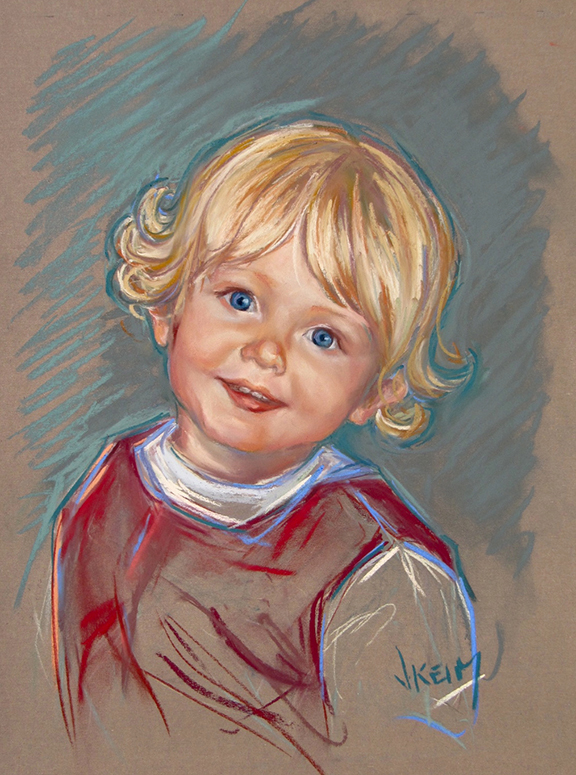 Owen - Pastel on Wallis Paper 18x24
