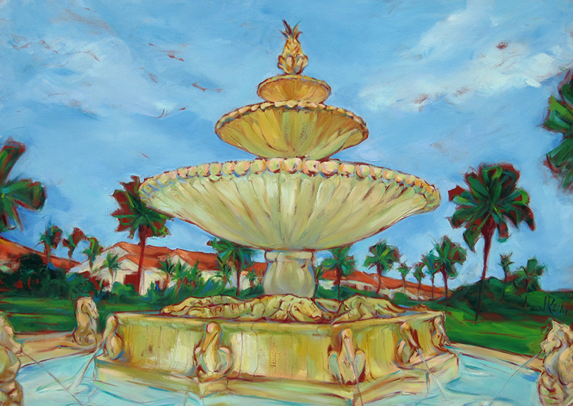 Ponte Vedra Inn & Club - Oil 56x40