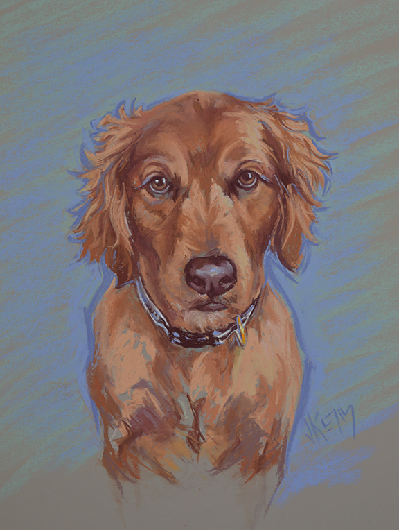 Sadie - Pastel on Wallis Paper 16x20
