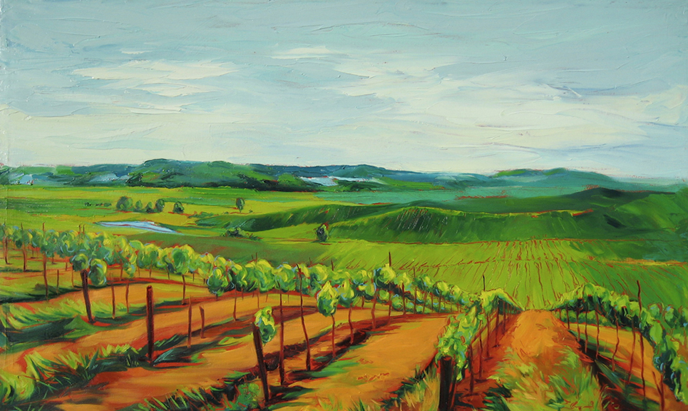 Wine Country - Oil 40x24